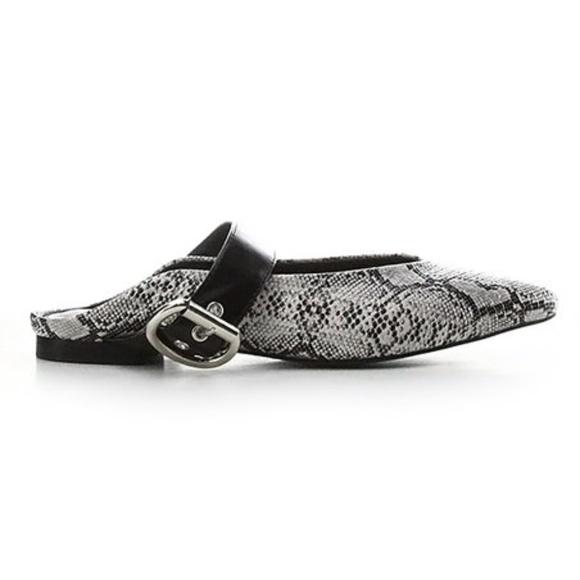 995716051303 Cape Robbin Shoes   Collection Snake Print Zadie Mule   Poshmark